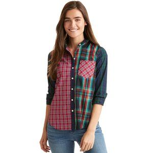 Vineyard Vines Holidays Plaid Party Relaxed Shirt